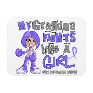 Combats de grand-maman comme le Cancer oesophagien Magnets Souples