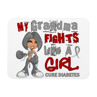 Combats de grand-maman comme le diabète de la fill magnets souples