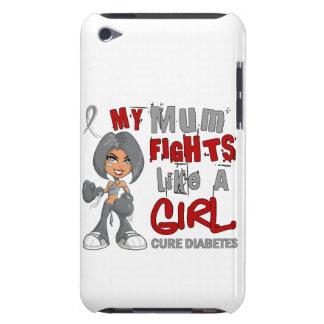 Combats de maman comme le diabète de la fille 42 9 étuis barely there iPod