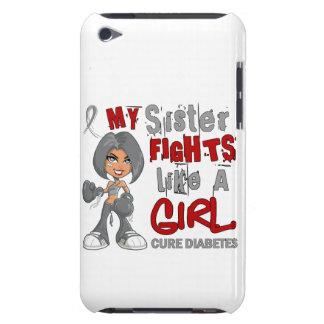 Combats de soeur comme le diabète de la fille 42 9 coque barely there iPod