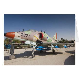 Combattant construit aux Etats-Unis d'A-4 Skyhawk Carte De Vœux