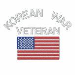 Combattant de Guerre de Corée avec des militaires  Sweatshirt À Capuche Brodé