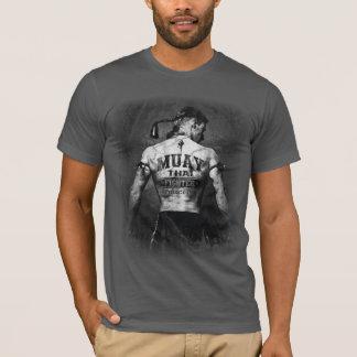 Combattant thaïlandais vintage de Muay T-shirt