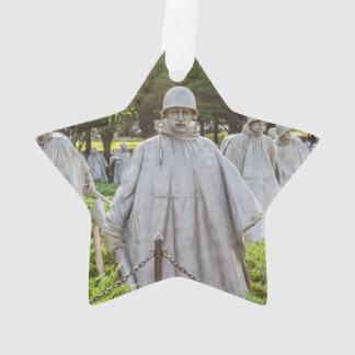 Combattants de Guerre de Corée commémoratifs