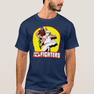 Combattants de Kung-Fu - Fu et T-shirt de kJ