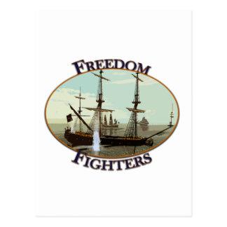 Combattants de liberté cartes postales
