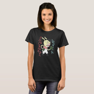 """""""Combattez de retour"""" la pièce en t des femmes de T-shirt"""