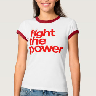 Combattez la chemise de puissance t-shirt