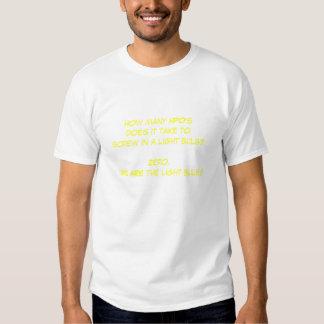 Combien de HPO prend-il ? T-shirts