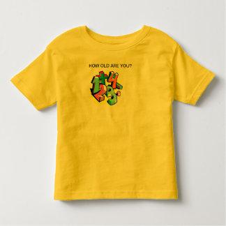 Combien vieux t-shirt