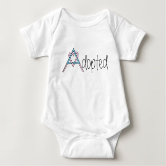 Combinaison adoptée de bébé body