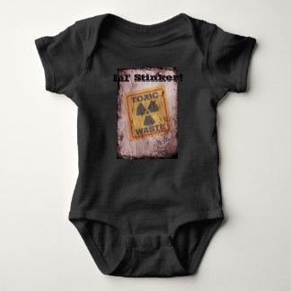 Combinaison de bébé de déchets nucléaires de navet body