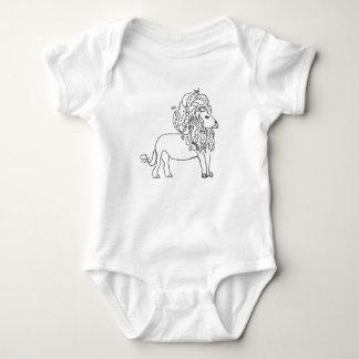 Combinaison de bébé - lion body