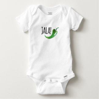 Combinaison drôle de bébé de Jalapeno de Holla T-shirts