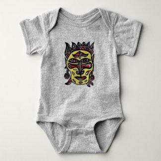 """Combinaison du Jersey de bébé """"de masque primitif"""" Body"""