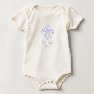 Combinaison d'une seule pièce organique de bébé de body