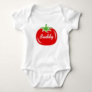 Combinaison faite sur commande de tomate rouge body