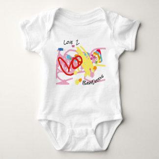 Combinaison mignonne du Jersey de bébé Body