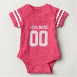 Combinaison rose faite sur commande de bébé de t-shirts