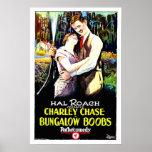 Comédie vintage de Hal Roach d'affiche de film