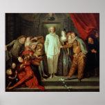 Comédiens italiens, c.1720 affiches