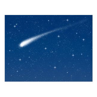 Comète #1 - Carte postale horizontale