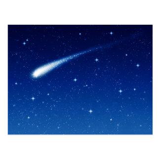 Comète #3 - Carte postale horizontale