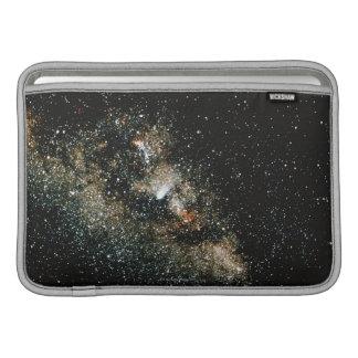 Comète de Halleys de la manière laiteuse Poches Macbook