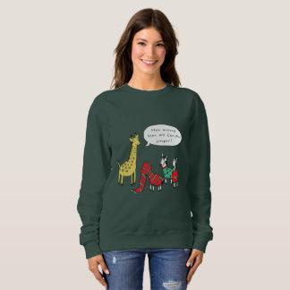 Comique classique du pullover | de Noël de zèbre