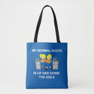 | comique Jetlagged mon sac fourre-tout normal à