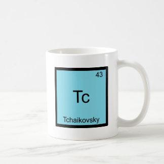 Comité technique - Symbole drôle d'élément de chim Tasse À Café
