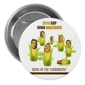 Comités 2016 de GOP Iowa Badges