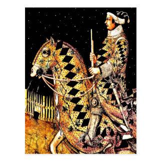 """""""Commandant à cheval """" Cartes Postales"""