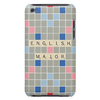 Commandant anglais coque iPod touch