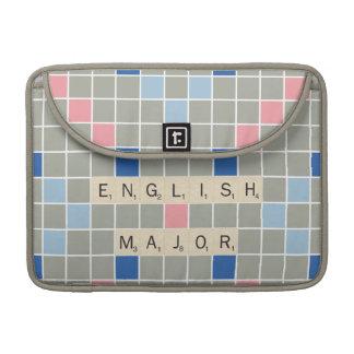 Commandant anglais poche pour macbook pro