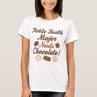 Commandant chocolat de santé publique t-shirt