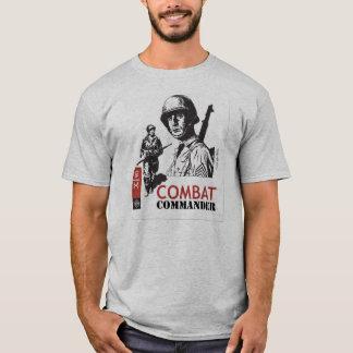 Commandant Custom de combat T-shirt