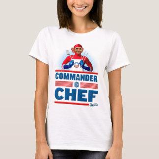 Commandant dans le chef t-shirt