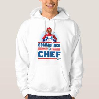 Commandant dans le chef veste à capuche