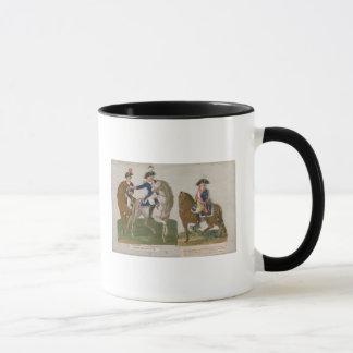 Commandant d'armée et un dirigeant mug