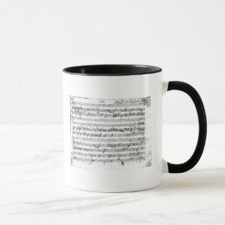 Commandant de G pour le violon, le clavecin et le Mug
