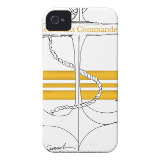 commandant de lieutenant d'or, fernandes élégants coques iPhone 4