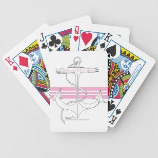 commandant de lieutenant rose, fernandes élégants jeu de cartes