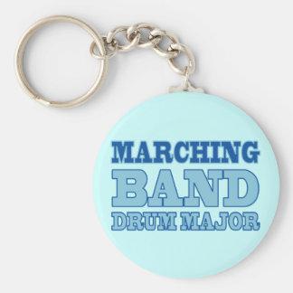 Commandant de tambour de fanfare porte - clé porte-clés