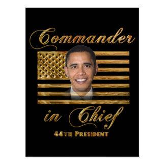 Commandant en chef, Barack Obama Cartes Postales