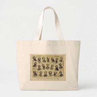 Commandants confédérés célèbres de la guerre sacs fourre-tout