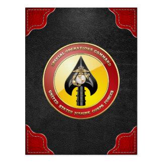 Commande d'opérations spéciales d'usmc (MARSOC) Carte Postale