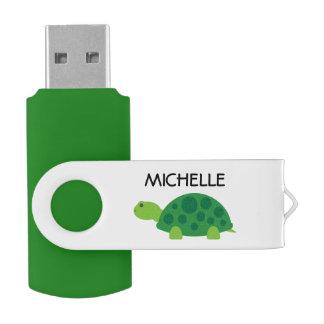 Commande drôle personnalisée d'instantané d'USB de Clé USB 2.0 Swivel
