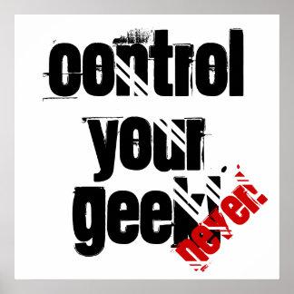 Commandez votre geek ! (Jamais) affiche