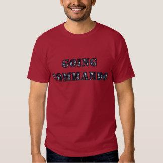 Commando allant t-shirt